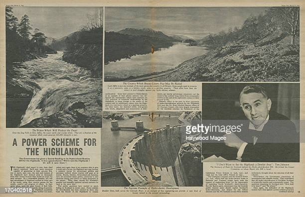 The first two pages of a feature by Maurice Edelman in the 13th March 1943 edition of Picture Post magazine on the British government's...