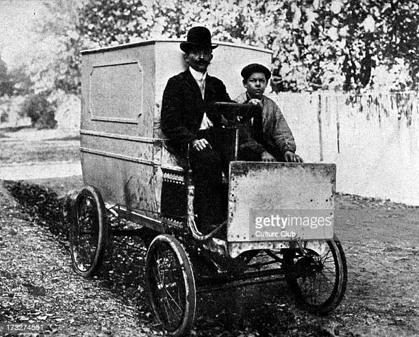 The first van by Renault brothers early 20th century