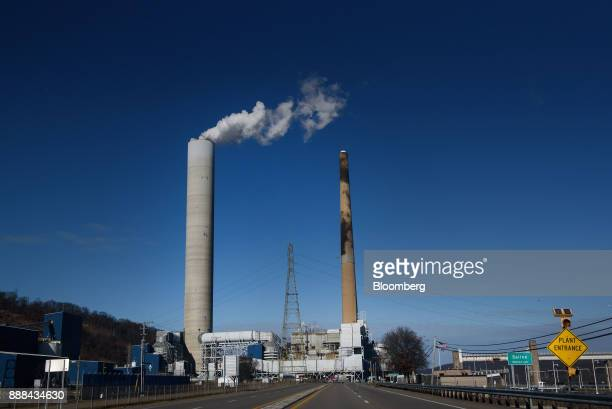 The FirstEnergy Corp WH Sammis Plant coalfired power plant stands in Stratton Ohio US on Wednesday Dec 6 2017 Across America few places are as...