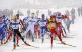 The FIS Cross Country World Cup Men 30KM Free Mass Start begins on December 6 2008 in La Clusaz