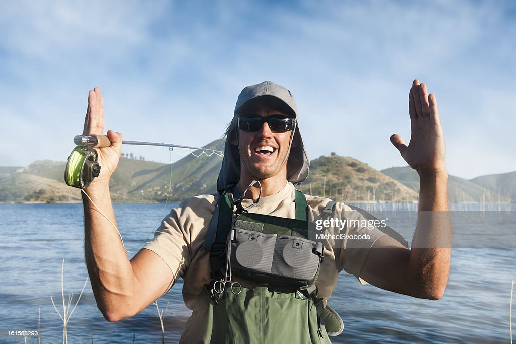 The Fish That Got Away : Stock Photo