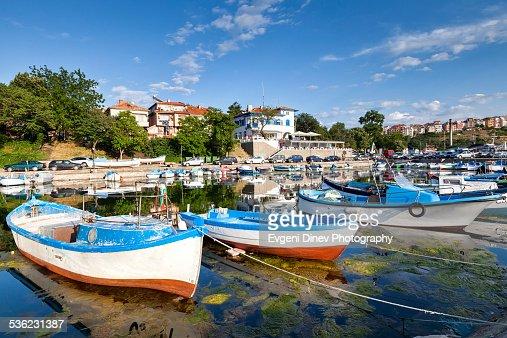 The fishing port in Sozopol