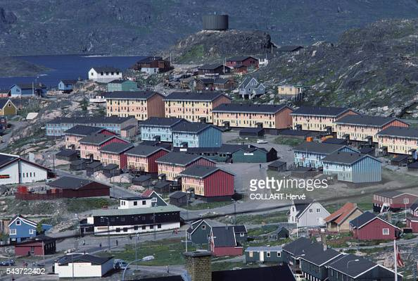 The fishing port of Julianehaab Acculturated by the Danes throughout the 20th century the Inuit have learned to live in prefabricated housing Fishing...