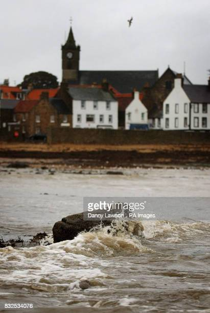 The fishing village of Anstruther in Scotland today where a trawler missing since yesterday was based An empty liferaft has been found by search...