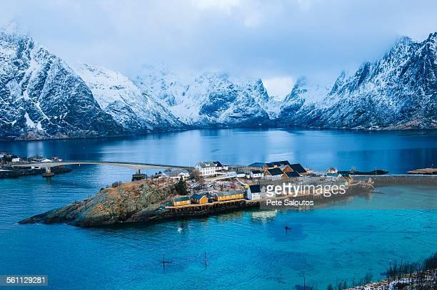 The fishing village of Reine, Lofoten, Norway