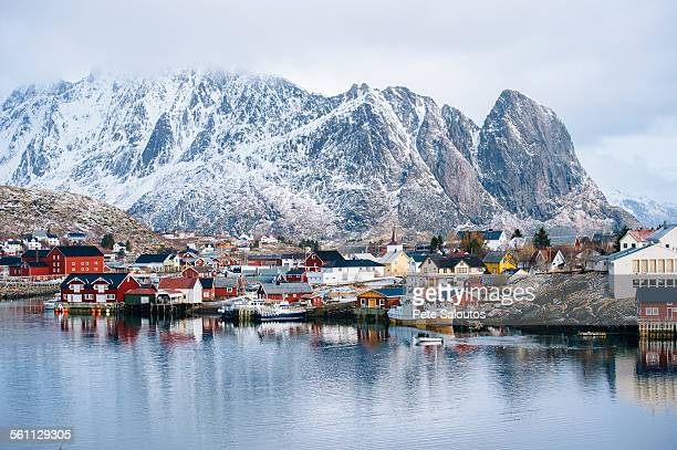 The fishing village of Reine, Lofoten, Norway