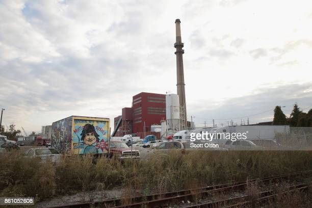 The Fisk power plant taken offline in 2012 remains idle on October 13 2017 in Chicago Illinois The plant built in 1903 and its sister Crawford power...