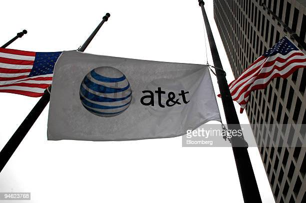 The flag emblazoned with the ATT logo flies on a flag beneath the Main BellSouth building in Atlanta Georgia January 4 2007 Last year's $368 trillion...