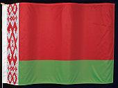The flag of Belarus