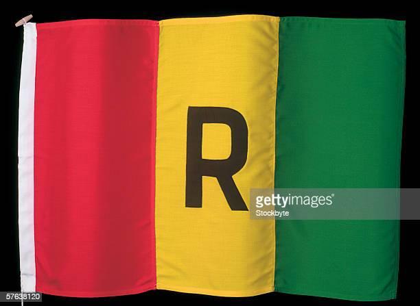 the flag of Guinea