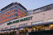 The flagship Whole Foods store at the corporate headquarters in Austin Texas