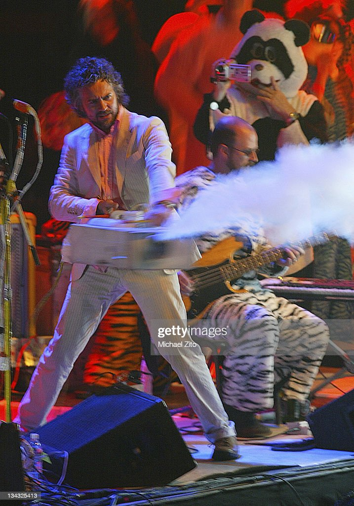 The Flaming Lips during Flaming Lips in Concert at the Los Angeles Forum - October 11, 2003 at Los Angeles Forum in Los Angeles, California, United States.