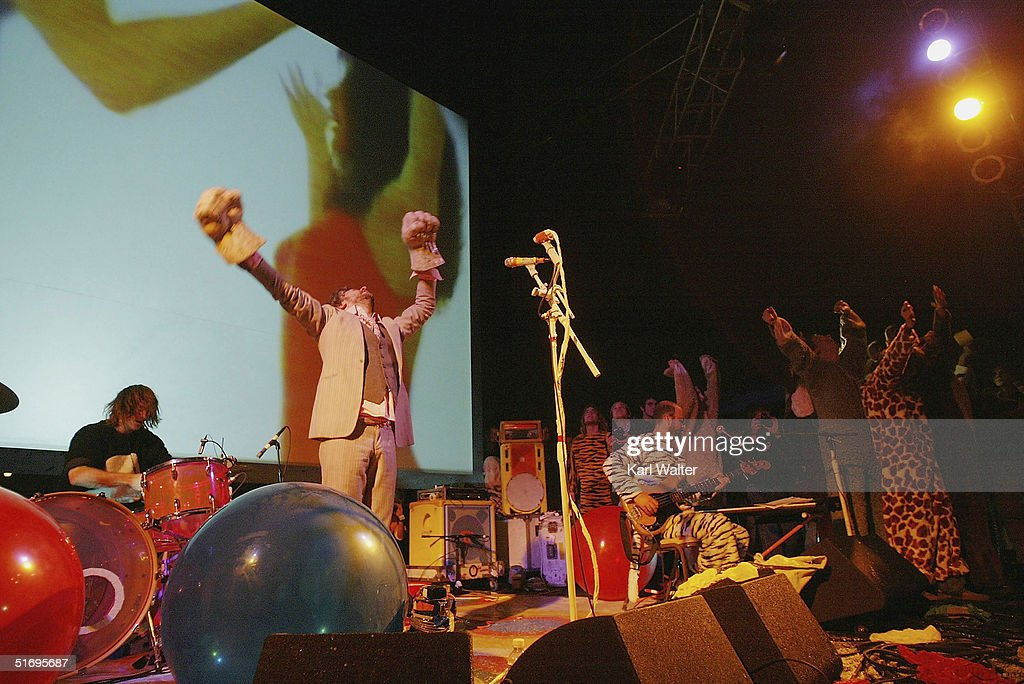The Flaming Lips perform at All Tomorrow's Parties at the Queen Mary on November 7, 2004 Los Angeles, California. The two day music festival was curated by Modest Mouse.
