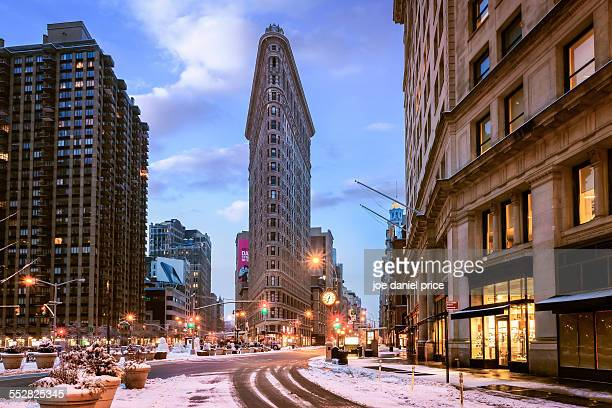 The Flatiron Building, New York City, New York, US