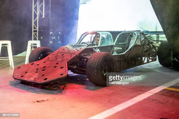 The Flip Car used onscren in Fast Furious 6 seen during the 'Fast Furious Live' media launch day event which featured the most screen used Fast and...