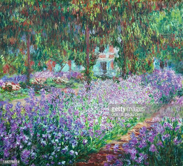 The flower garden at Giverny Claude Monet Paris Musée D'Orsay