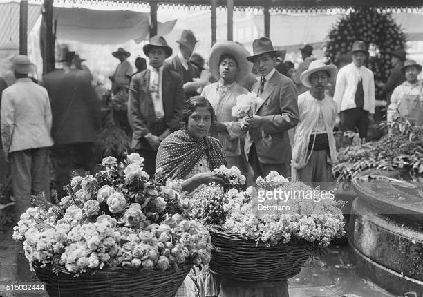 The Flower Market of Mexico City This is one of the chief attractions of Mexico City Erected in 1881 on the site of an old Aztec temple it is one of...