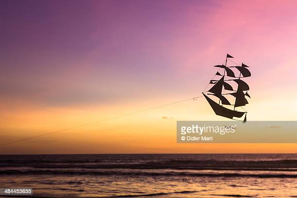 The flying pirate ship