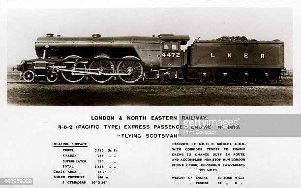 The 'Flying Scotsman' steam locomotive 20th century The 'Flying Scotsman' was built in 1923 for the London and North Eastern Railway at Doncaster...