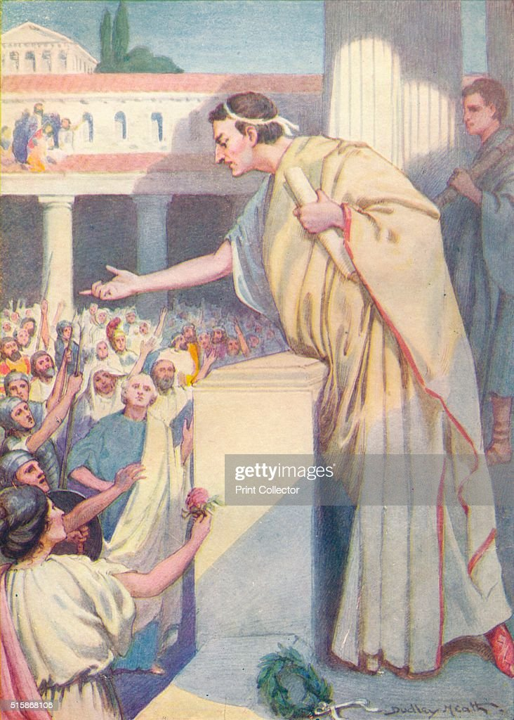 The following morning Cicero made another speech against Catiline' circa 1912 Marcus Tullius Cicero discovered a second plot by Lucius Sergius...