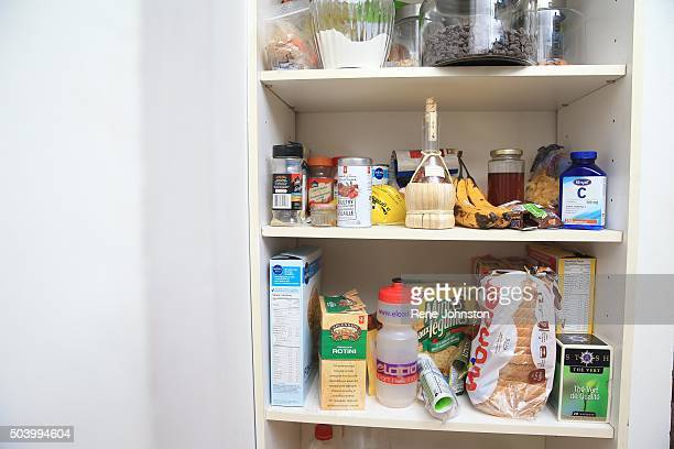 TORONTO ONTARIO DECEMBER 29 2015 The food shelf clutter Reporter Jonathan Forani is applying advice from an expert organizer to 'declutter' his...