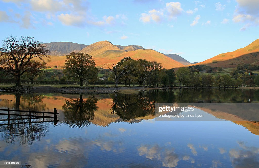 |The foot of Buttermere Lake
