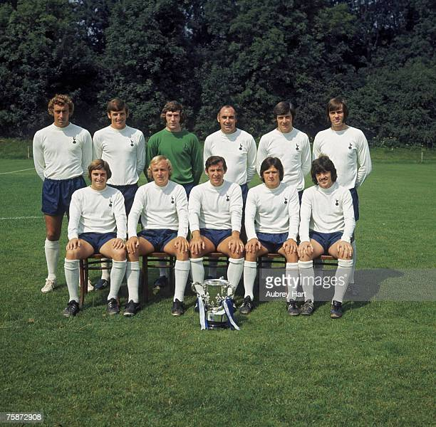 The Football League Cupwinning Tottenham Hotspur FC team of 1971 Among the squad are Martin Chivers Martin Peters and goalkeeper Pat Jennings Front...