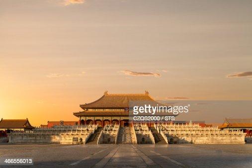 the Forbidden City with nobody, Beijing