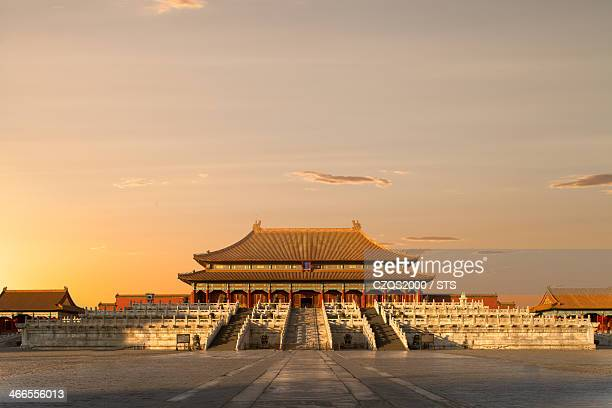 the Forbidden City with nobody, Beijing