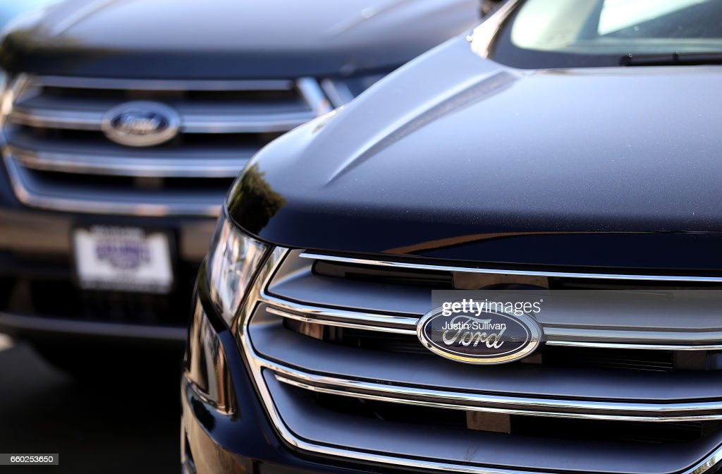 The Ford logo is displayed on a new Ford car on the sales lot at a & Ford Motor Company Stock Photos and Pictures | Getty Images markmcfarlin.com