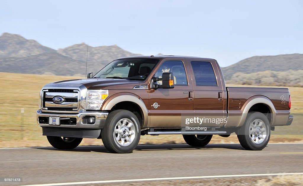 Test Drives For Ford Motor Co Super Duty Trucks Getty