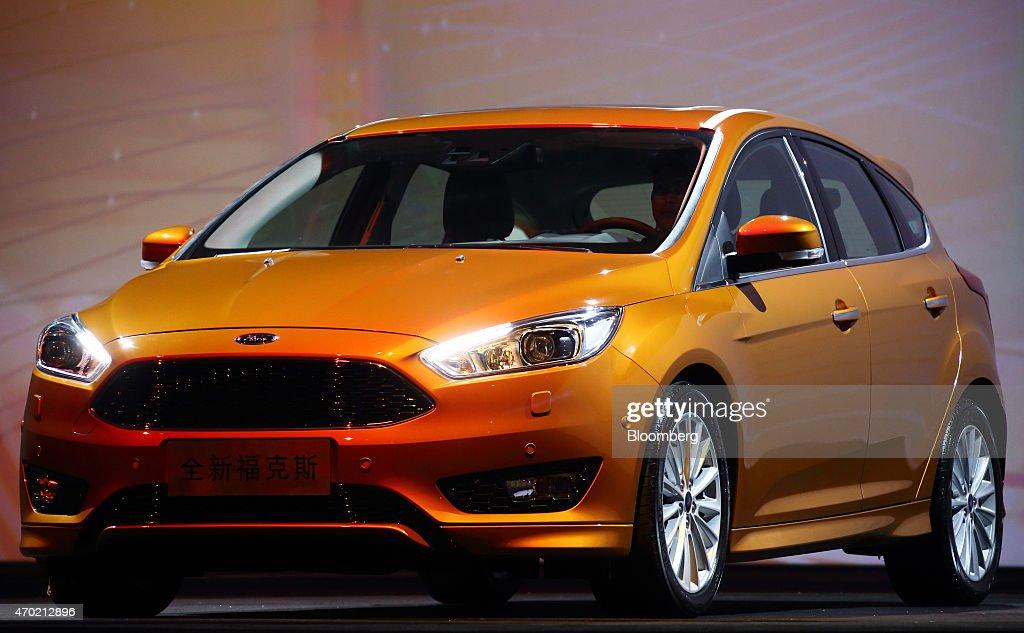 Ford Motor Co Media Event Ahead Of Auto Shanghai 2015