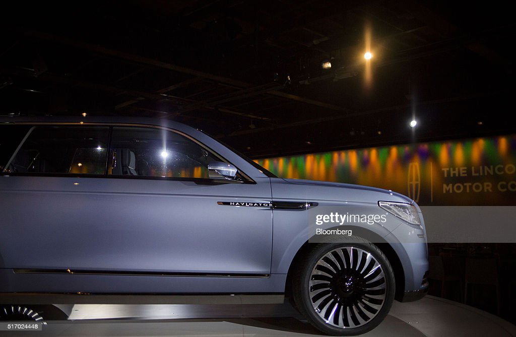Ford motor co reveal event ahead of the new york for Lincoln motor company news
