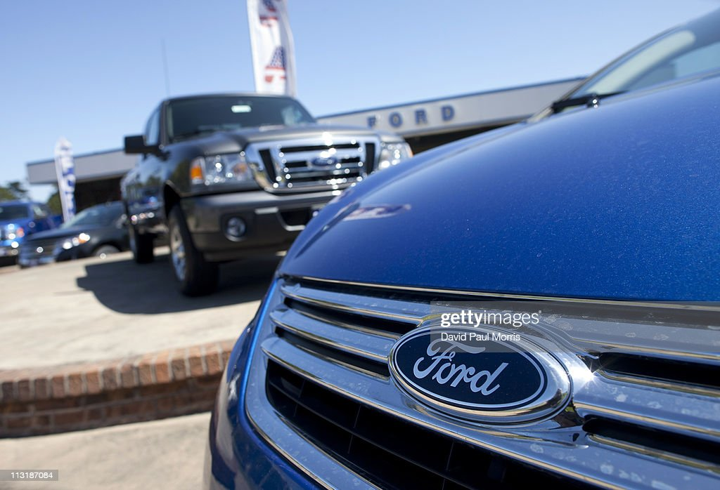 Ford motor co announces quarterly earnings getty images for Wall street motor cars