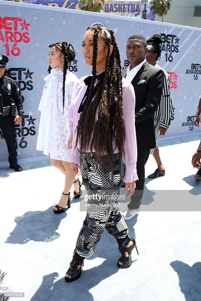 The Formation Dancers attend the 2016 BET Awards at the Microsoft Theater on June 26, 2016 in Los Angeles, California.