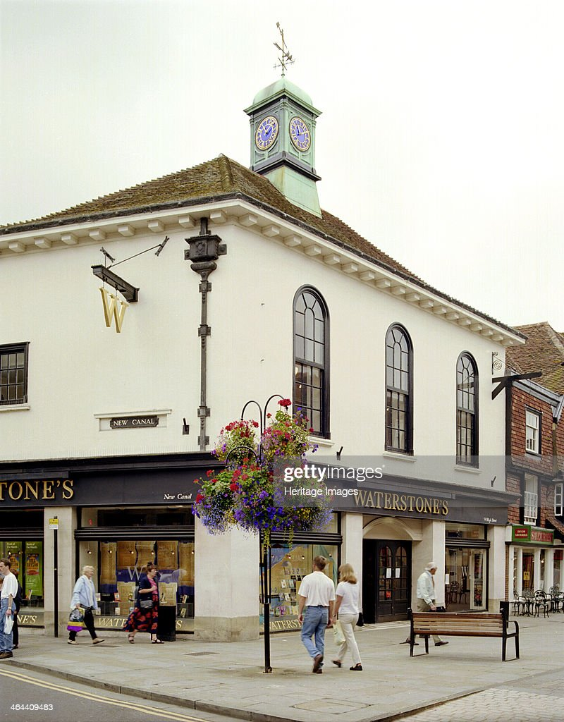 The former Assembly Rooms on the corner of High Street and New Canal Salisbury Wiltshire 2000 The building has now been converted for retail use as a...