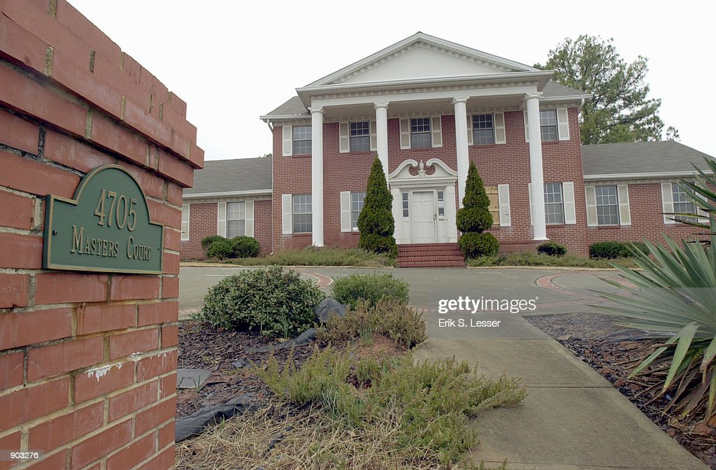 The former home of fourtime Olympic gold medalist gymnast Olga Korbut stands February 7 2002 in Duluth GA More than $30000 in counterfeit money was...