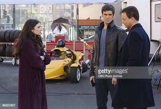 'The Formula' Guest star Race car driver Danica Patrick is questioned by Det Don Flack and Det Mac Taylor on CSI NY scheduled to air Wednesday Feb 10...