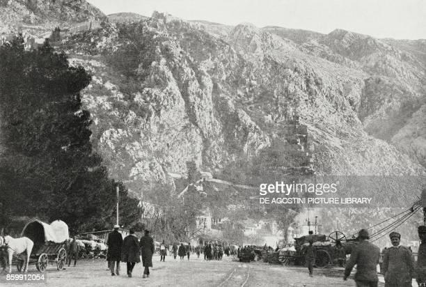 The Fort of St John in Kotor Montenegro World War I from l'Illustrazione Italiana Year XLV No 50 December 15 1918