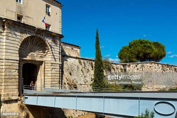The forteress,Nimes, Gard, Occitanie, France