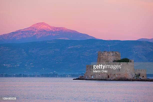 the fortress island of Bourtzi
