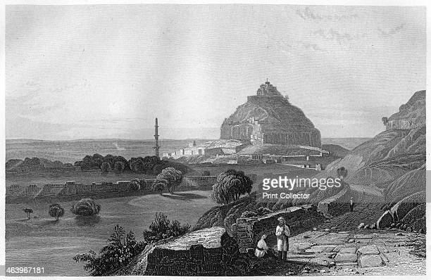 The Fortress of Dowlatabad in the Deccan Plateau India c1860 The Indian Rebellion of 1857 began in the town of Meerut and soon erupted into other...