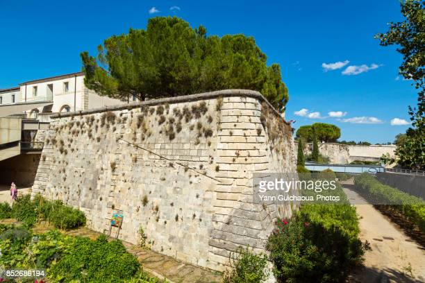 The foteress,Nimes, Gard, Occitanie, France