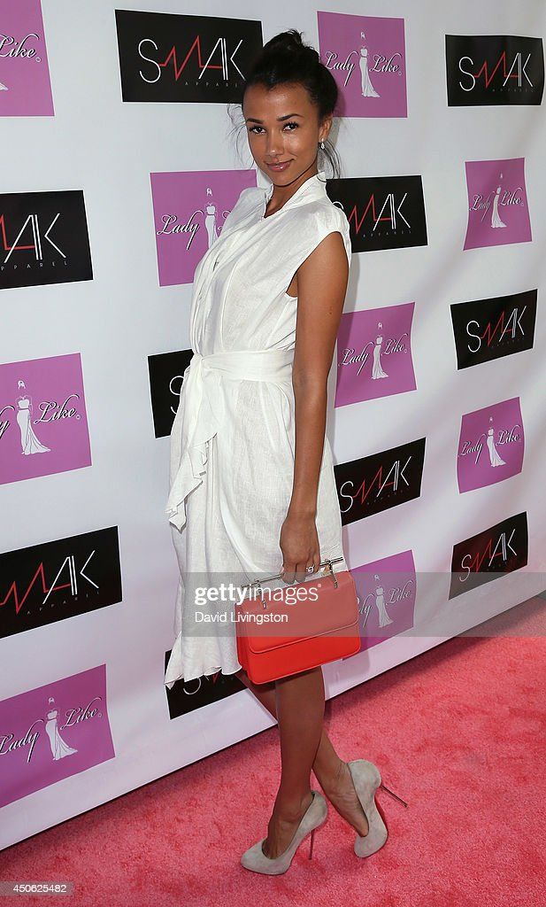 The Foundation for Living Beauty founder Amie Satchu attends the LadyLike Foundation's 6th Annual Women of Excellence Scholarship Luncheon at the Luxe Hotel on June 14, 2014 in Los Angeles, California.