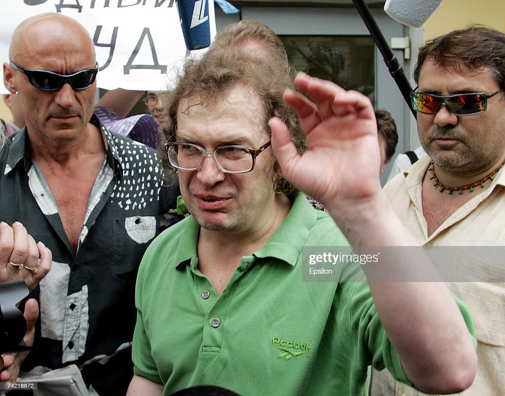 The founder of the MMM financial pyramid, Sergei Mavrodi, leaves Matrosskaya Tishina prison on May 22, 2007 in Moscow, Russia. Mavrodi was the founder of a scheme that defrauded more than a million Russians of their life savings.
