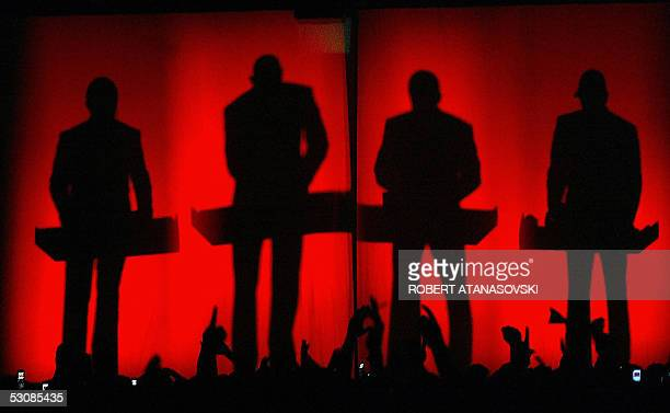 The four members of German band Kraftwerk perform in Skopjeon 16 June 2005Kraftwerk created important trends for electronic music in the 80s Today...