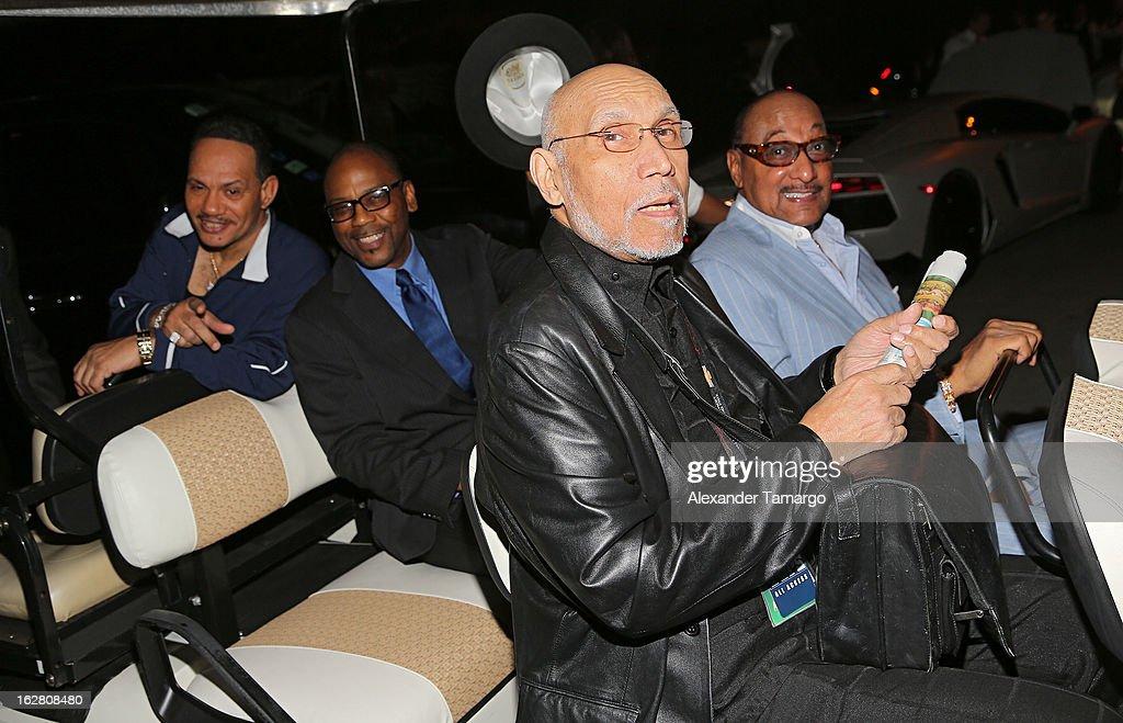 "Miami Heat Host ""Motown Revue"" Charity Event"
