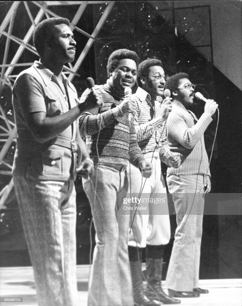 The Four Tops on 'Top Of The Pops' 1971 Levi Stubbs, Renaldo 'Obie' Benson, Abdul 'Duke' Fakir and Lawrence Payton