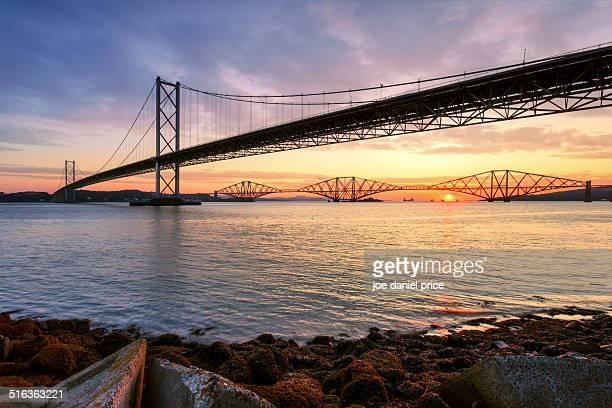 The Fourth Bridges, Edinburgh, Scotland