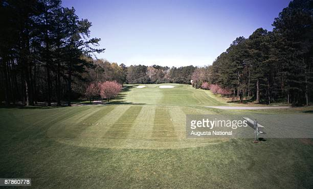 The fourth hole during the 1977 Masters Tournament at Augusta National Golf Club in April 1977 in Augusta Georgia